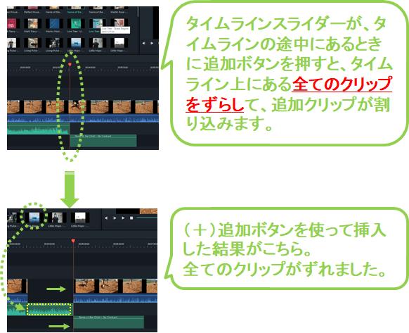 7_フィモーラ_ミュージック_BGM_クリップ追加_方法_ミュージックトラックに入れる_途中追加_スライダー追加