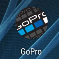 スマホに表示されるgoproアプリのショートカット